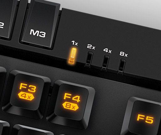Teclado Gamer USB Cougar 500K